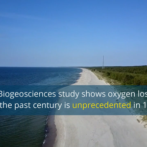 "Video summary: Oxygen loss in the coastal Baltic Sea is ""unprecedentedly severe"""
