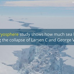Video summary: New study puts a figure on sea-level rise following Antarctic ice shelves' collapse