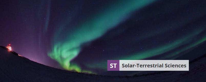Banner image of Solar-Terrestrial Sciences