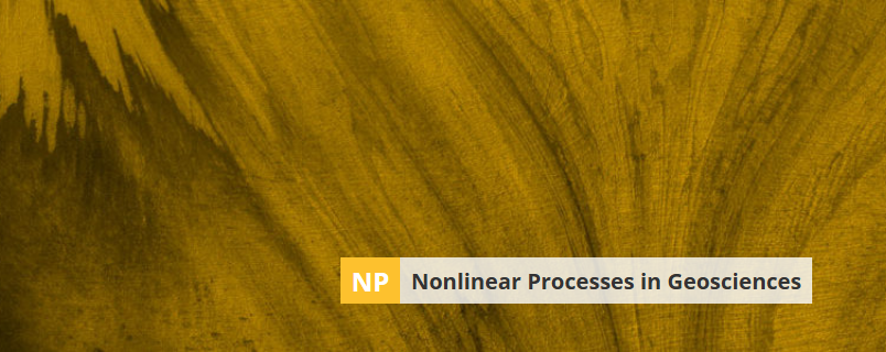 Banner image of Nonlinear Processes in Geosciences