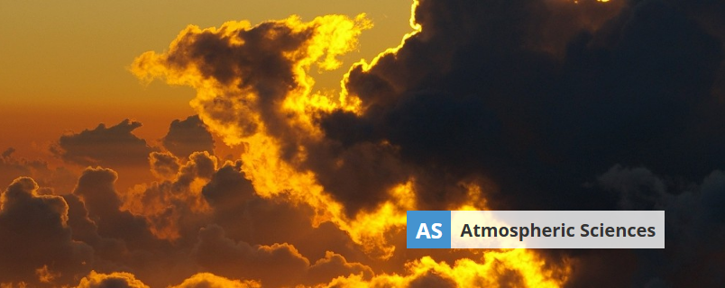 Banner image of Atmospheric Sciences