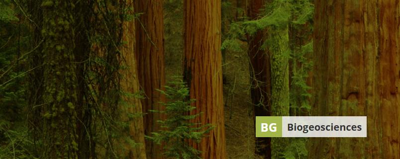 Banner image of Biogeosciences