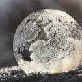Frosted globe