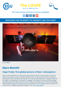 EGU newsletter cover image