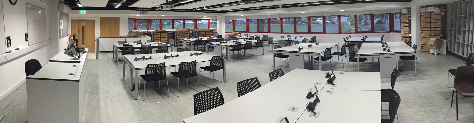 A teaching classroom (Credit: Gordon Curry)