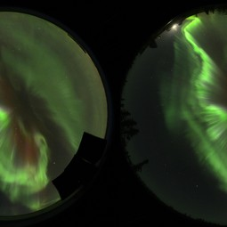 All-sky images of aurora