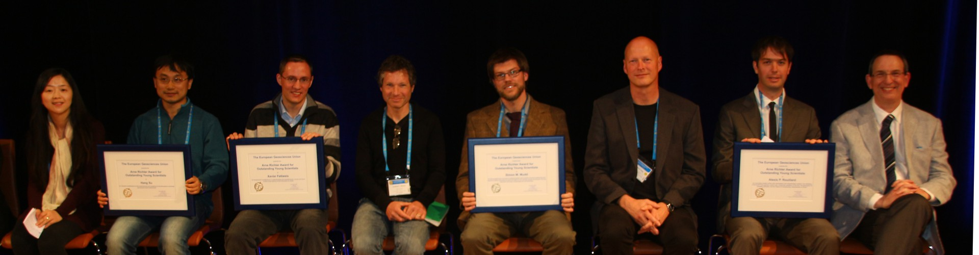 2013 Award Ceremony: Arne Richter awardees and their nominators