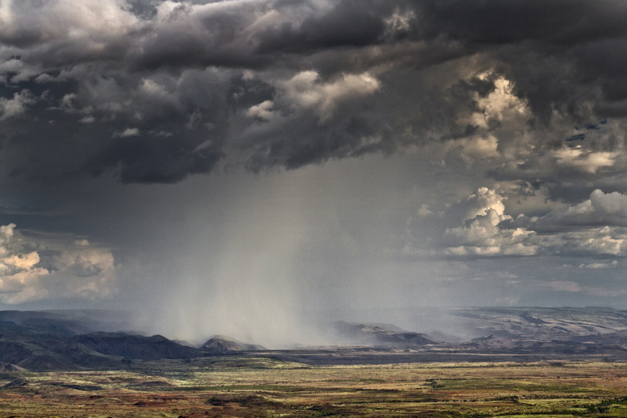 Heavy rainfall events can be more common in a warmer world (Credit: Annett Junginger, distributed via imaggeo.egu.eu)