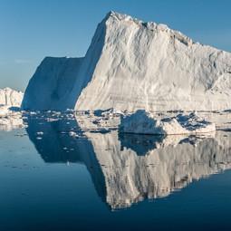 Iceberg from Jakobshavn Isbræ, Disko Bay
