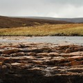 Dry river bed in Northern England
