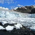 Many glaciers around the world, like the Pastoruri Glacier in Peru (pictured), are retreating due to climate change.