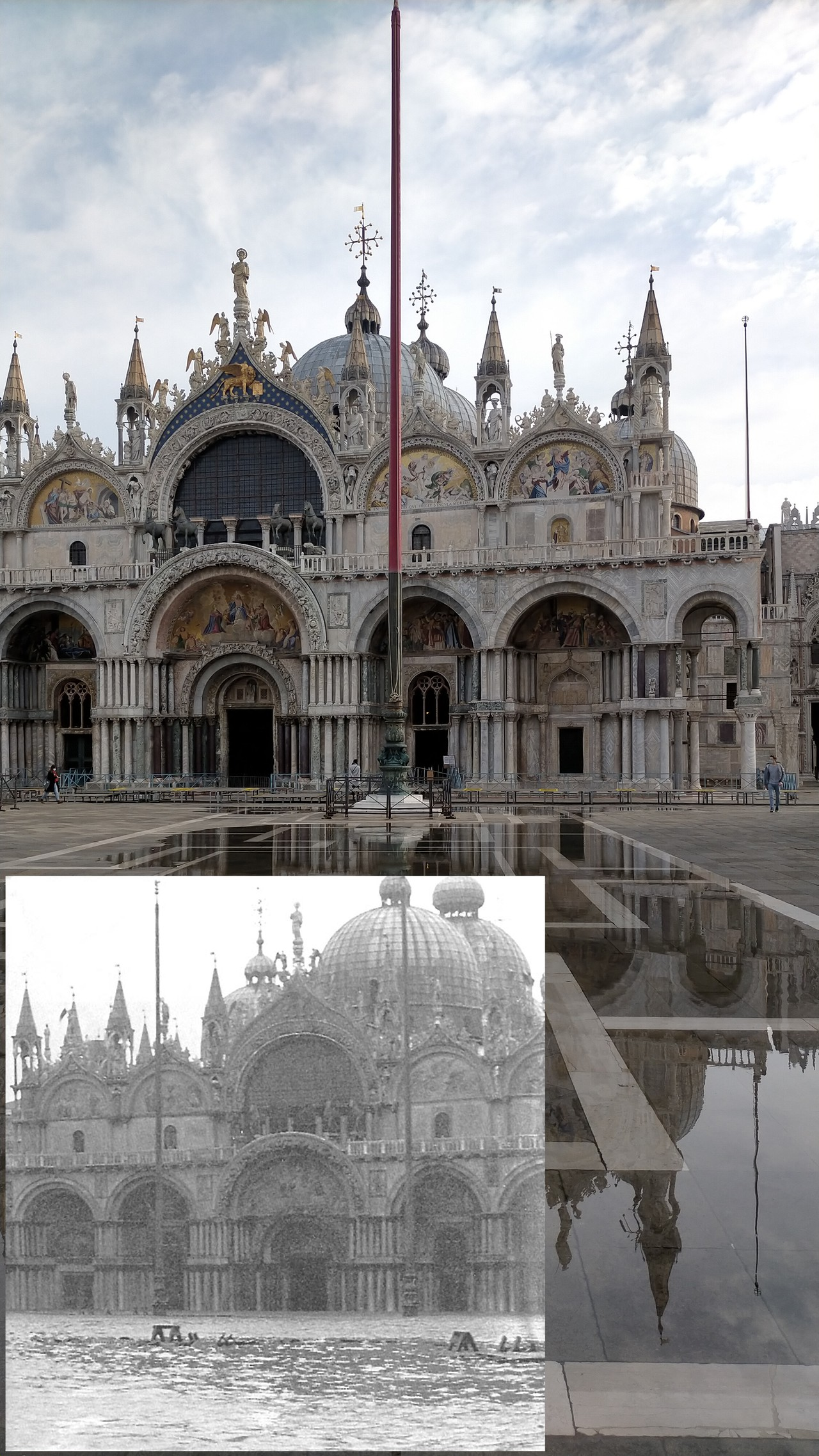 St Mark's Square flooding current and historical comparison.png