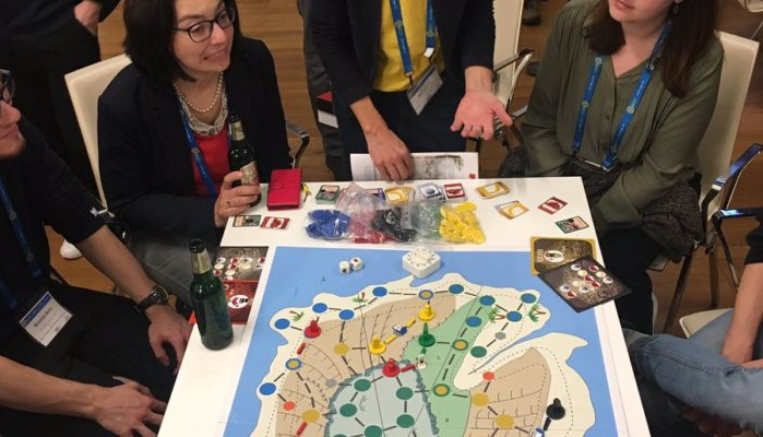 Geoscience Games Night 2019 (Credit: Courtesy of Rolf Hut)