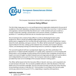 EGU Science Policy Officer Job Ad.pdf