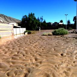 Sedimentary record of catastrophic floods in the Atacama Desert