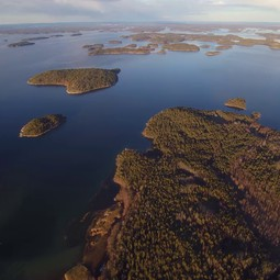 Archipelago Sea from a drone
