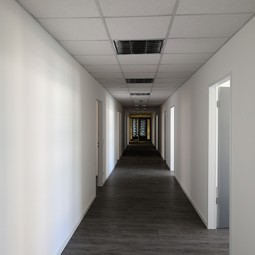 View of the inside of the new EGU Executive Office, shortly before the move