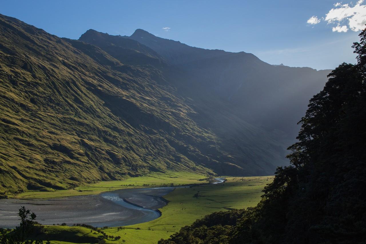 Mount Aspiring Glacier Valley, Aotearoa New Zealand (Credit: Markus Benninghoff via immageo.egu.eu)