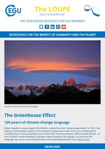 EGU newsletter cover image