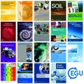 Covers from EGU's open access journals