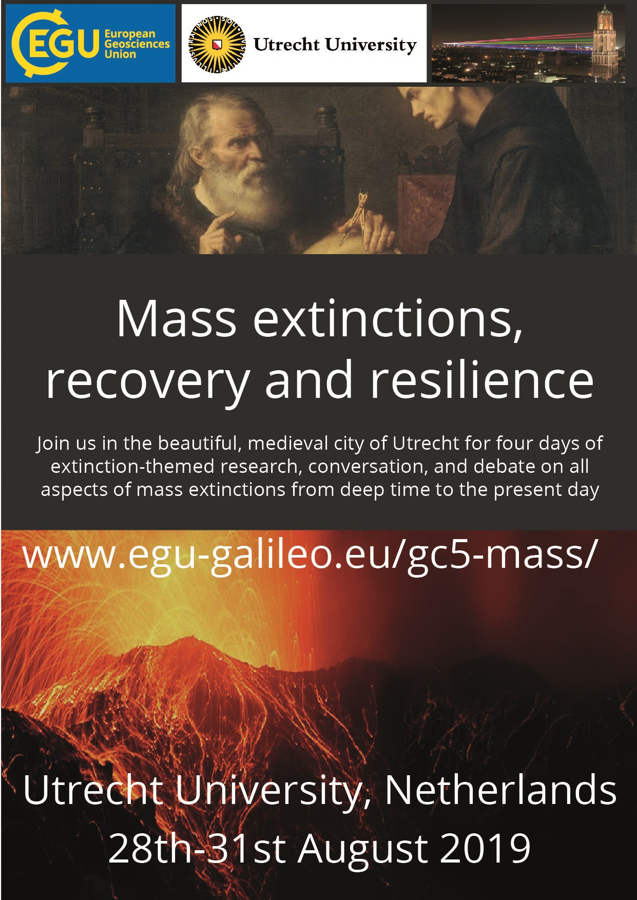 Flyer for 5th Galileo Conference (Credit: David Bond)