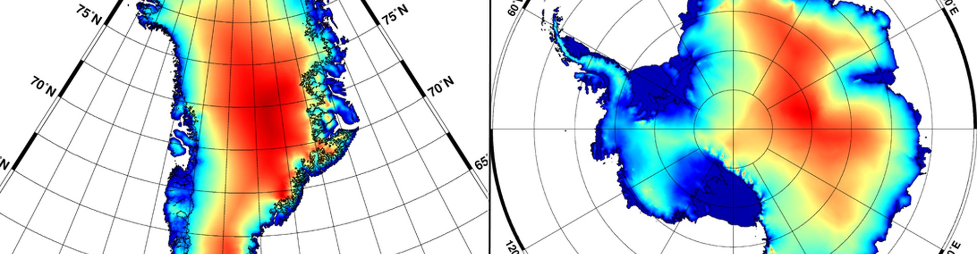 New digital elevation models for Greenland and Antarctica (Credit: Helm et al., The Cryosphere, 2014)