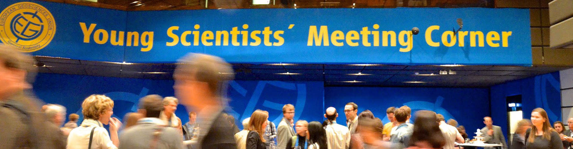 The Young Scientists' Meeting Corner at the EGU 2015 General Assembly will become the Early Career Scientists' Meeting Corner in 2016. (Credit: EGU/Stephanie McClellan)