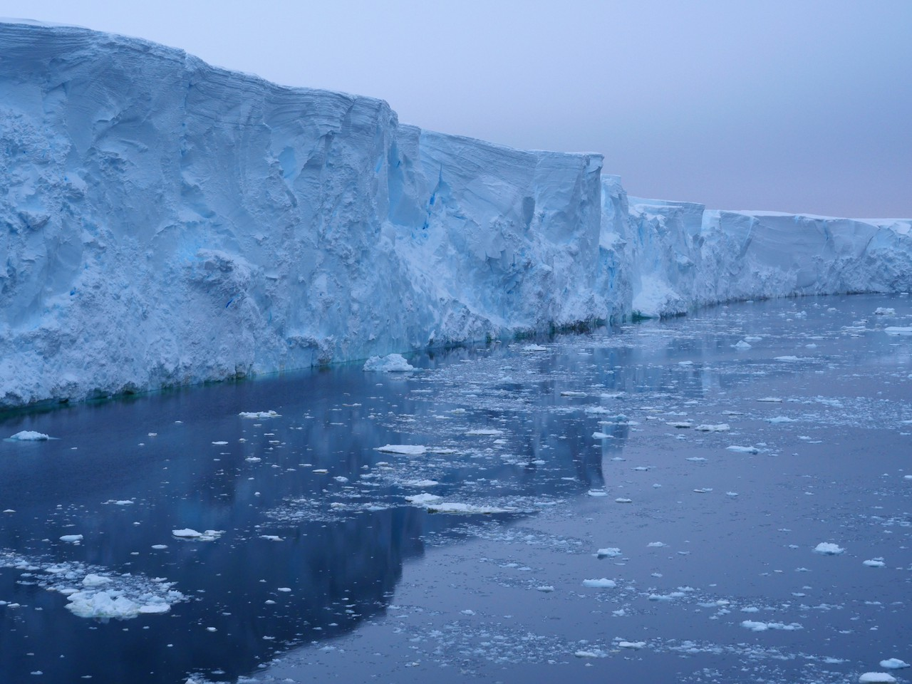 Ice cliff (Credit: Rob Larter/BAS)