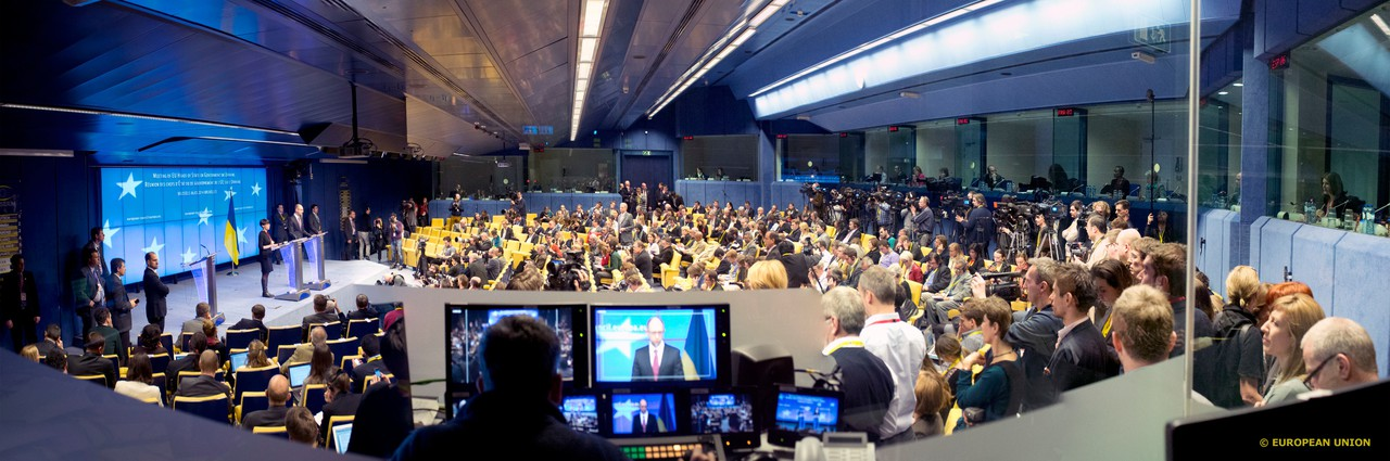 A meeting of EU Heads of State (Credit: European Council (distributed via Flickr))