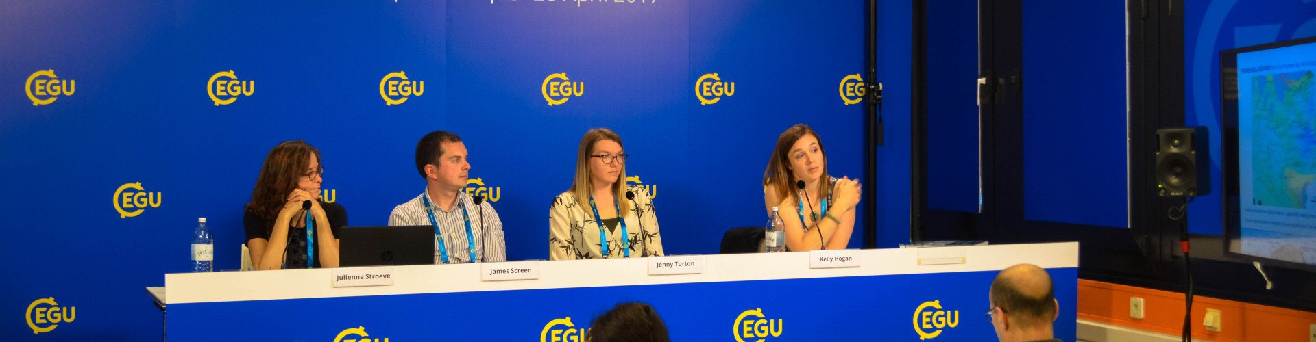 EGU press conference (Credit: Kai Boggild/EGU)