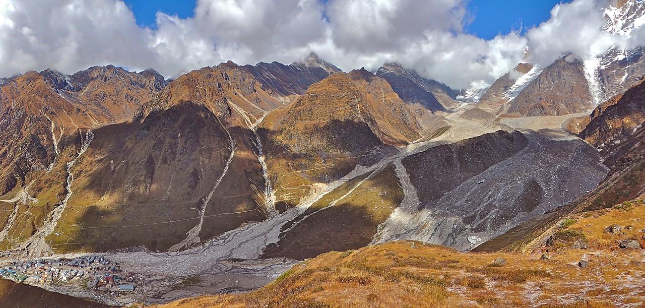 Kedarnath landslide (Credit: Vaibhav Kaul, University of Sheffield)