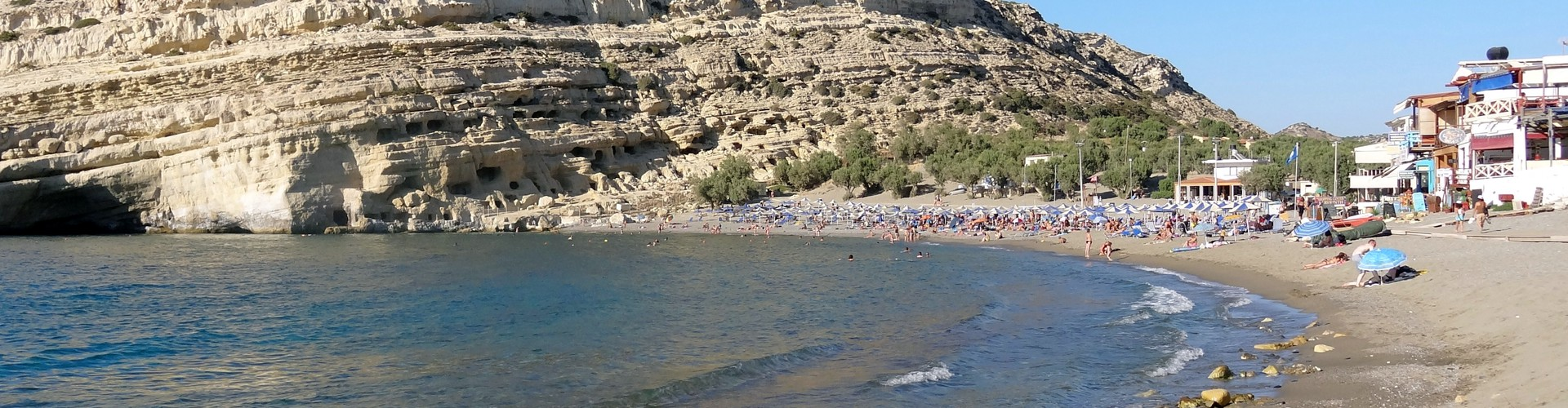 Beaches in southern Crete could be affected by an Eastern Mediterranean tsunami (Credit: Olaf Tausch)