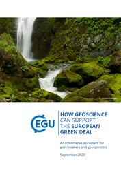 How geoscience can support the European Green Deal