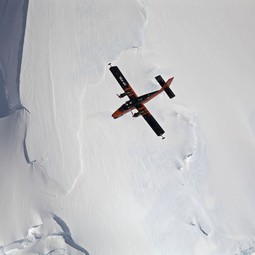 BAS radar-equipped twin otter