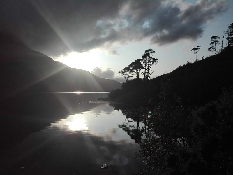 Sun peaking through the clouds at the Killary Fjord.jpg (Credit: Evelien van Dijk, via imaggeo.egu.eu)