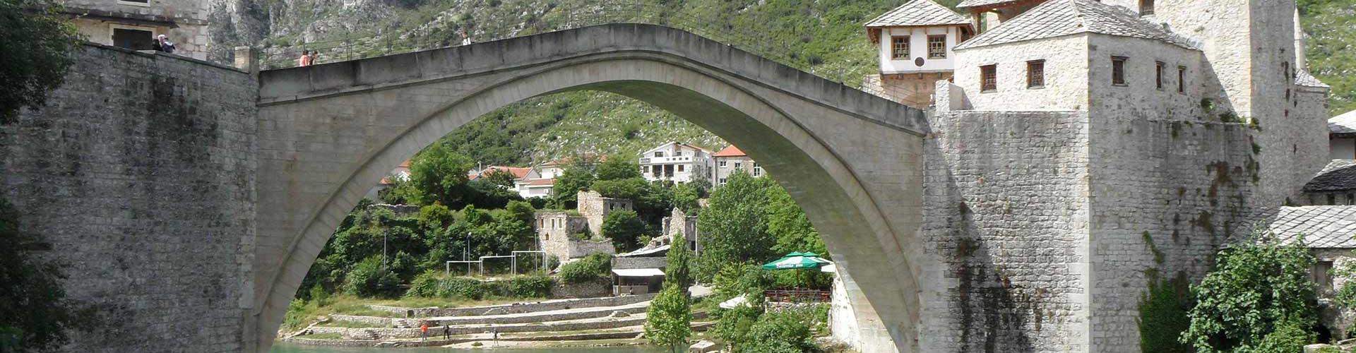 Stari Most bridge  in Mostar, Bosnia and Herzegovina (Credit: Courtesy of Terri Cook and Lon Abbott)