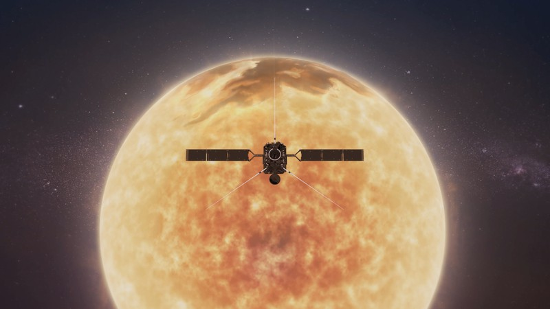 Solar Orbiter (Credit: NASA/CiLab)