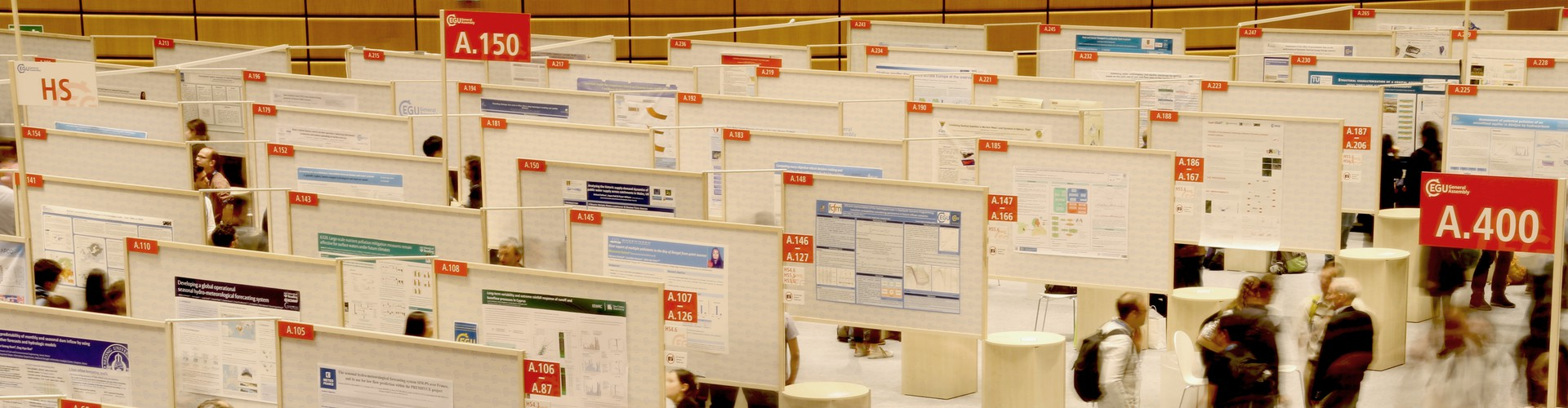 Poster session at the EGU 2018 General Assembly (Credit: EGU/Keri McNamara)