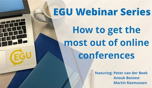Get the most out of online conferences cover