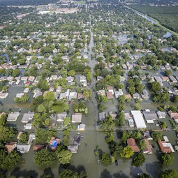 Harvey flooding, southeast Texas