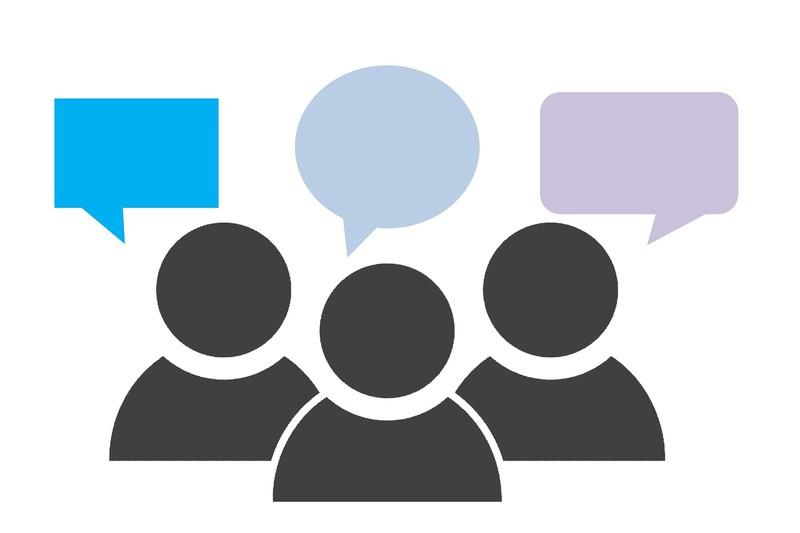 Group talk, credit: Tumisu via Pixabay