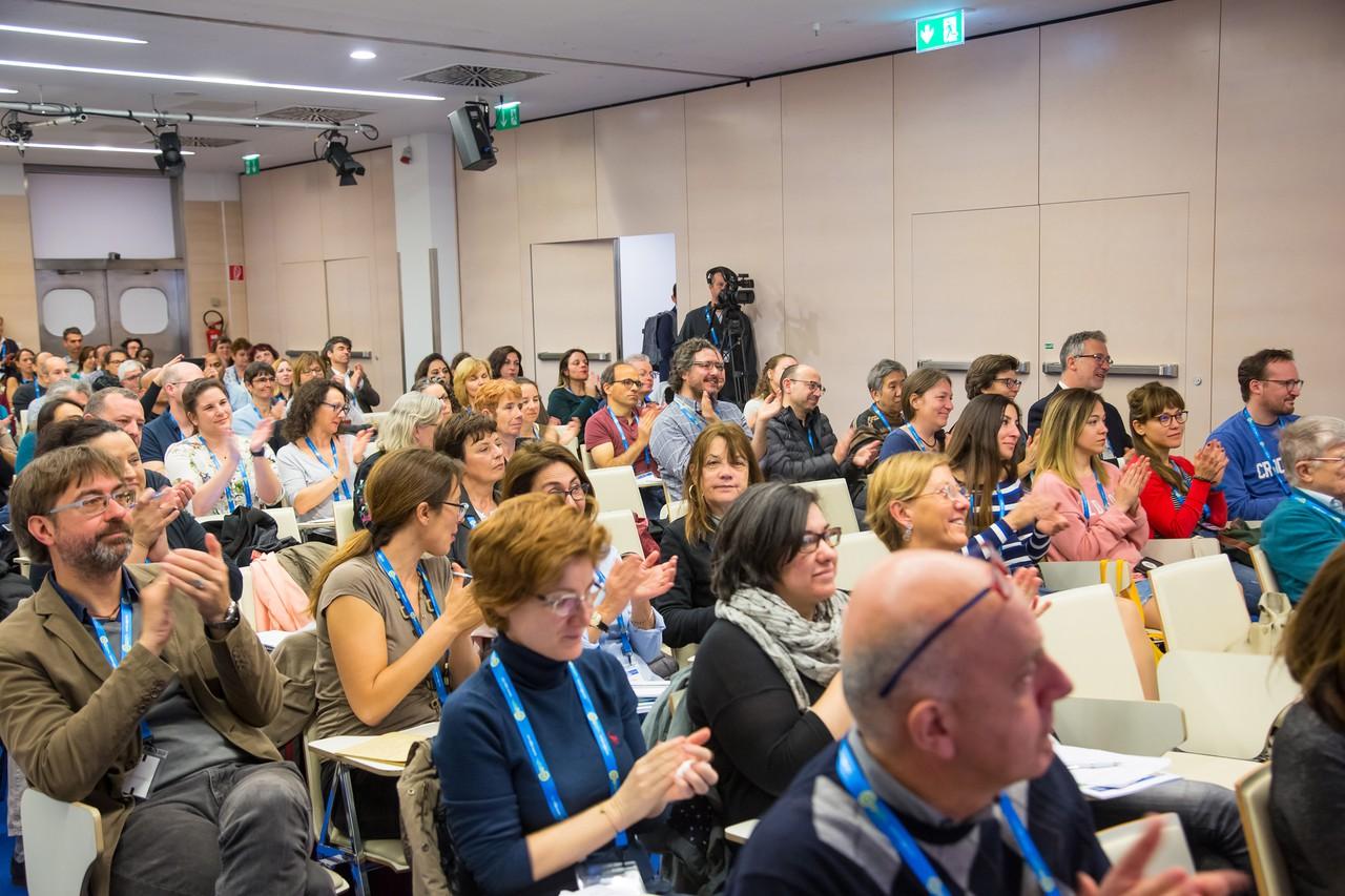 GIFT teachers during lecture (Credit: EGU/Foto Pfluegl)