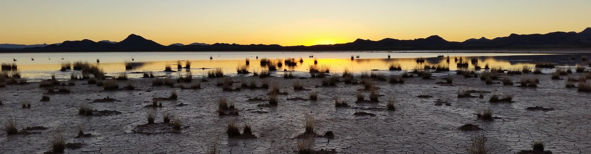 Lordsburg Playa, New Mexico, USA (Credit: Martina Klose (distributed via imaggeo.egu.eu))