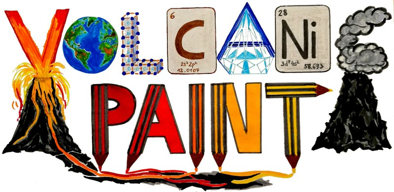 Volcanic Paint! Image (Credit: Maike Neuland)