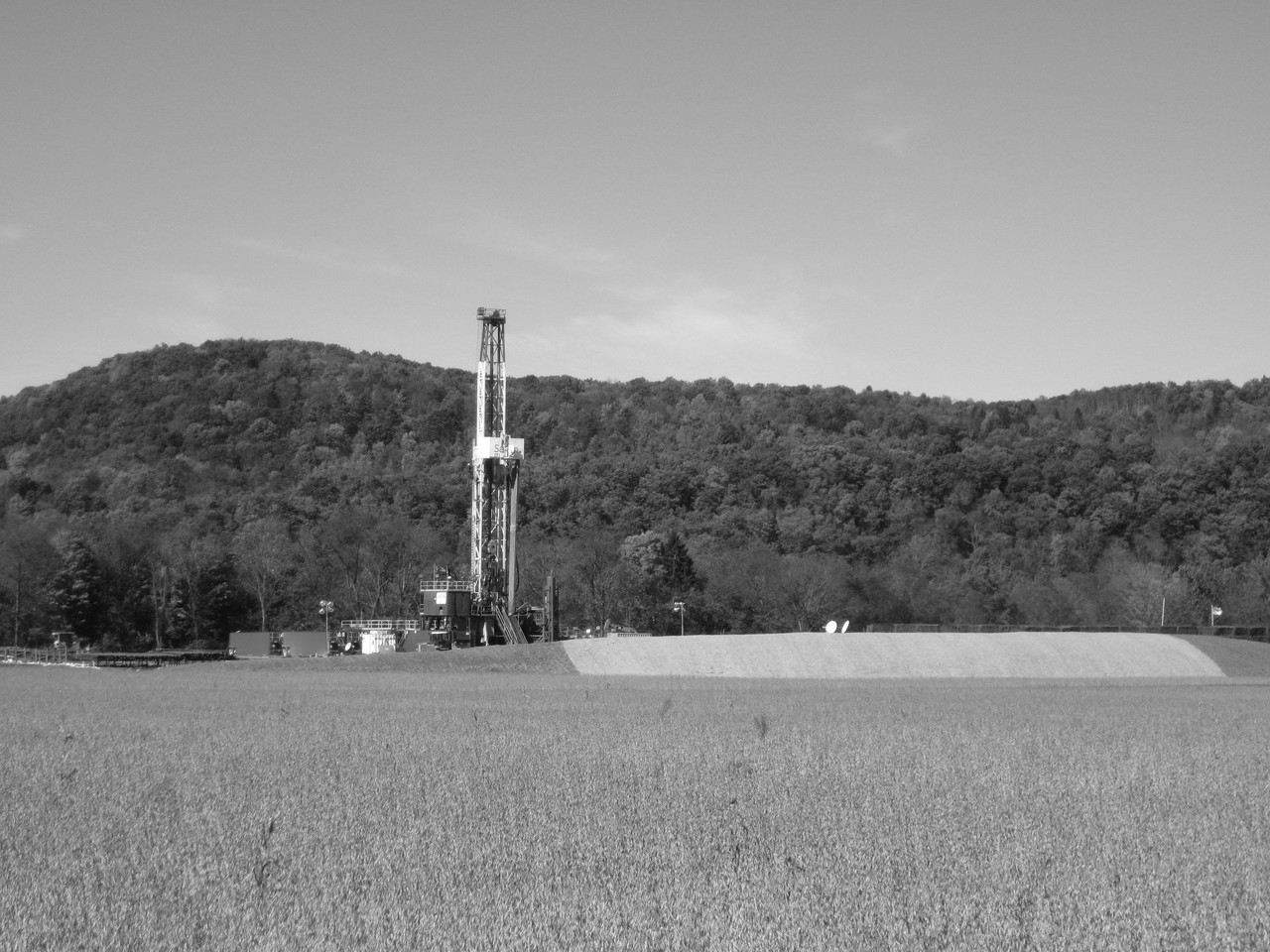 Drilling for shale gas (Credit: Ruhrfisch)