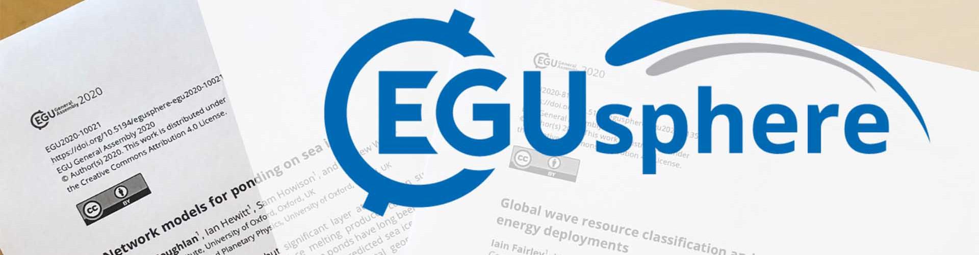 EGUsphere banner (Credit: EGU)