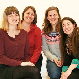 From left to right: Romana Hödl, Katrin Attermeyer, Laura E. Coulson, Astrid Harjung