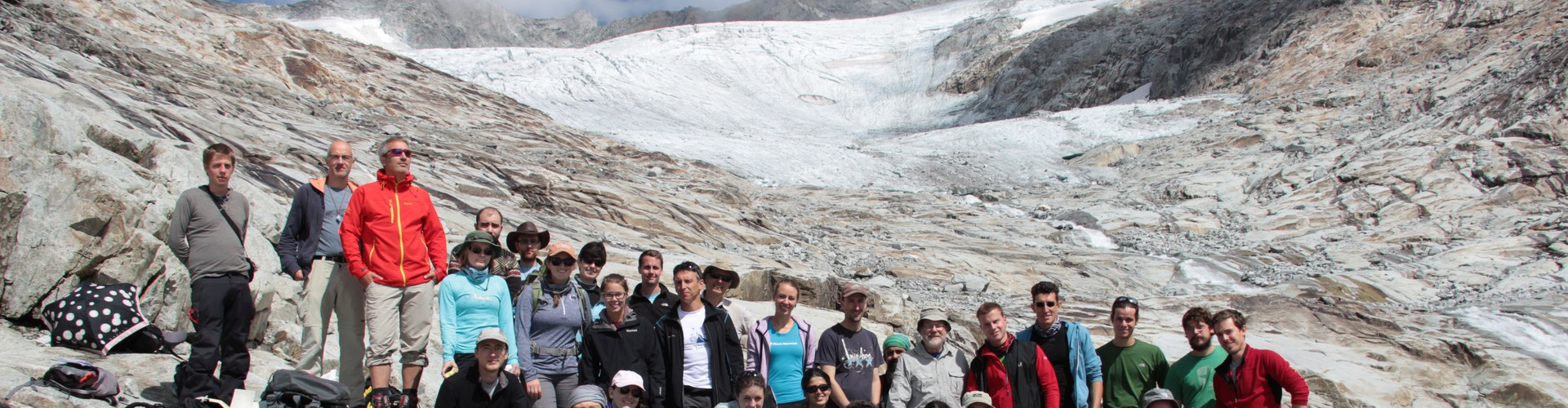 EGU summer school 2015 (Credit: Organisers of the 1st EGU Summer School on Structural Analysis of Crystalline Rocks)
