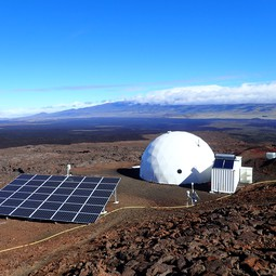 Crewmembers spend days to months in the HI-SEAS Mars/moon habitat atop Mauna Loa.