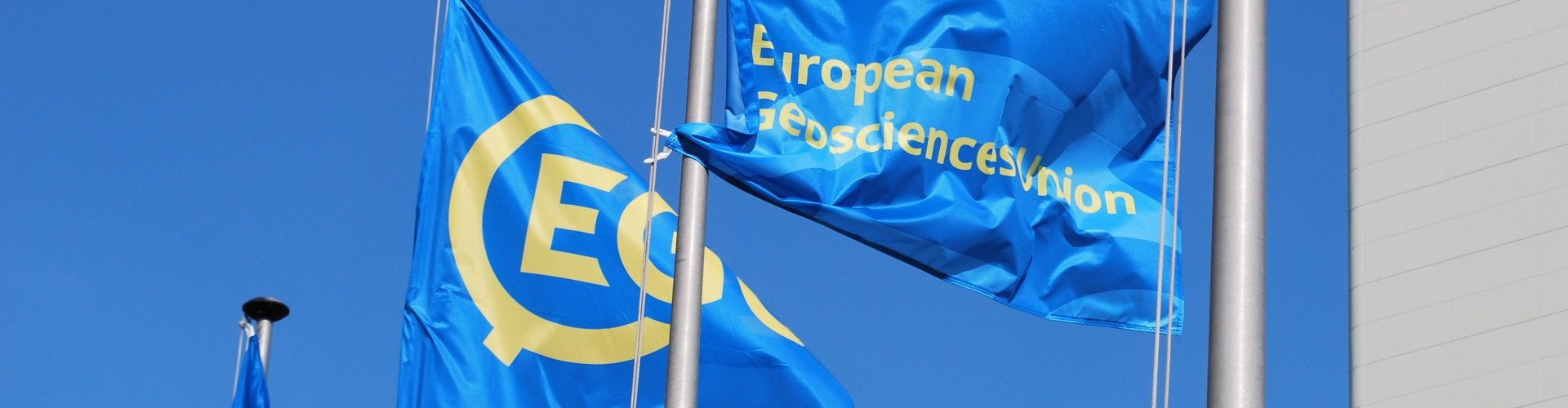 EGU Flags at EGU General Assembly 2016 (Credit: Kai Boggild, distributed via imaggeo.egu.eu)